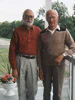 Jacques and his father, 1996.